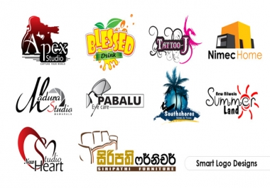 create 2 simple logo for your any kinds of business and others