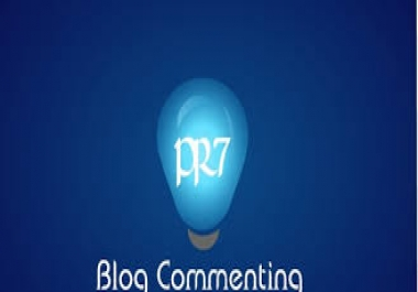 provide Manual HighPR Blog Comment 70 PR2 Dofollow on unique domains