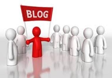 create Manual High PR Blog Comment 60 PR3 Dofollow on unique domains