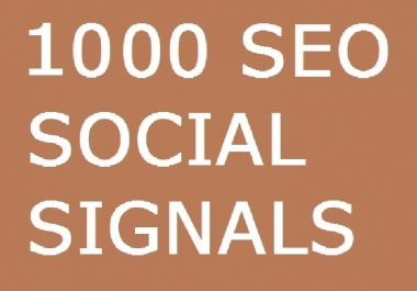 3800+ Orders 7 PLATFORM 1000 SOCIAL SIGNALS SEO BACKLINK BOOKMARK SHARE TO GOOGLE PLUS LINKEDIN REDDIT BUFFER HIGH PR PAGE RANK