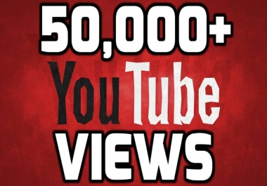 Provide 50,00-51,00 Safe Non Drop  Unique Real Views Within 24 Hours