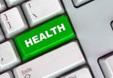 Buy High Quality Health Niche Guest Post at PR2 DA30+ PA40+ CF30+ TF15+