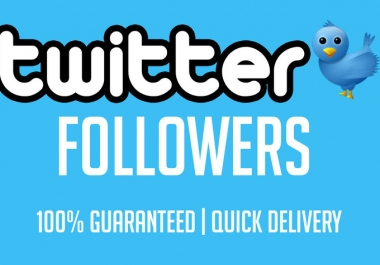 I will get you 500+ twitter followers