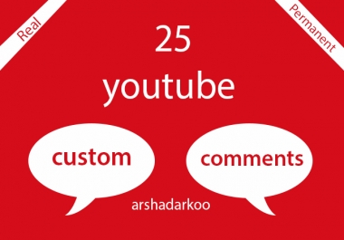 25+ Permanent youtube custom comments in your video