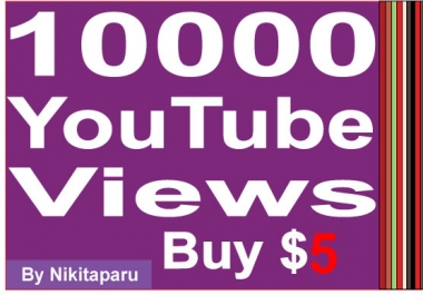 Super Fast 10000 YouTube High retention Views