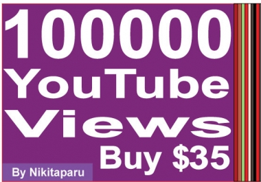 Add 100000+ Non Drop YouTube Views