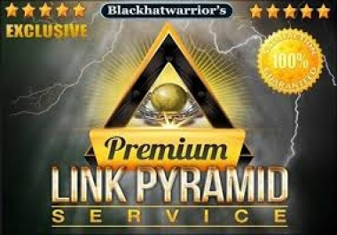 create LINk PYRAMID Using diverse sources, Ultimate Link Pyramid for