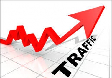 give you Real Traffic, 1,500 Visits Daily, for your site during a Week!