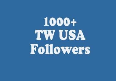 add INSTANT 1000 USA TW Followers