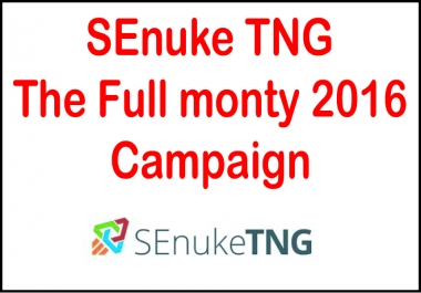 SEnuke TNG -The Full monty 2018-Campaign
