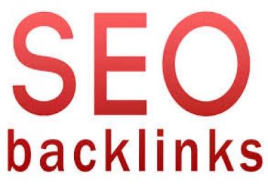 I will manually do 40 Pr4+ Unique domain dofollow back links