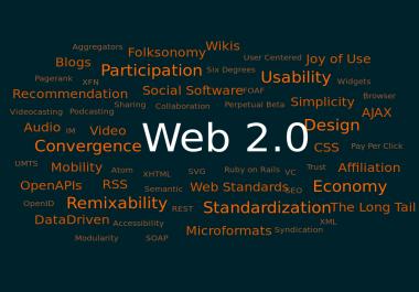 2,100 Web 2.0 profiles Backlinks