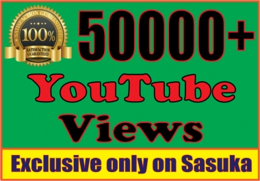 Instanly add 50,000 You+Tube Views
