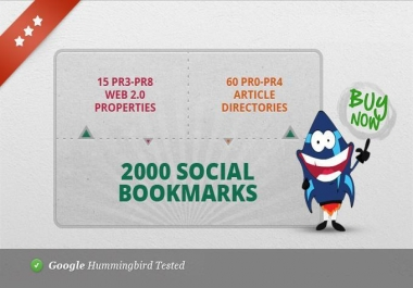 create 75 PR3 to PR8 seo LlNKWHEEL and 2000 social bookmarks, very Great for youtube