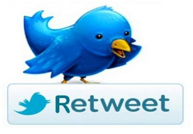 Get Fastest 1,000+ Twitter Retweet OR Favorites from Looking real twitter accounts