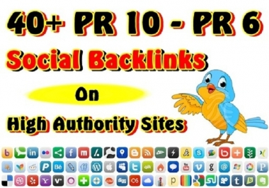 Generate 50 PR7 to PR8 Social Bookmarking