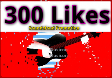 Get 300 Soundcloud Likes Or, 250 Follower Or, 200 Repost High Profile Quality