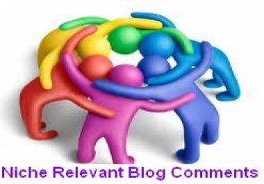 Make Manually 50 Niche Relevant Blog Comment Penguin Panda Safe