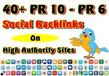 Make 30 PR7 to PR8 Social Bookmarking