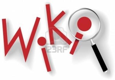 Prepare 3000 Wiki backlinks from 1000 unique domain