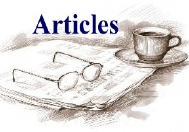 Write an Article, Spin it and Submit it from 2500 to 3000 Article Directories for Quality Backlinks