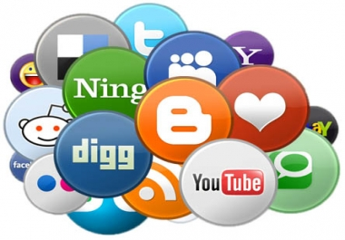 manually Bookmark your website to 22 Dofollow and Nofollow Social bookmarking sites with PR 8 to 0