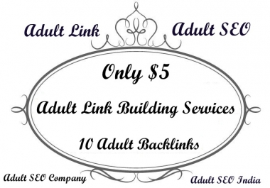 Add AduIt Website Link For 2 Month On My 6 Websites for $5