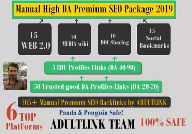 No.1 Manual High DA Premium SEO RANKING PACKAGE THAT WILL SKYROCKET YOUR WEBSITE