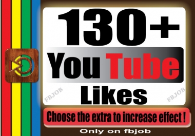 get you 130+ YouTube likes for your Video