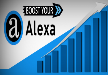 7000+ Real and Unique Visitors From ِALEXA to your Website