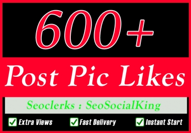 600+ Fast Social Pictures Post Promotion Instantly