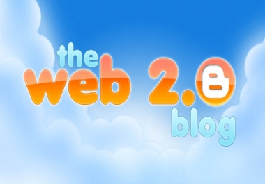 Give you 20 High PR web 2.0 blog posts