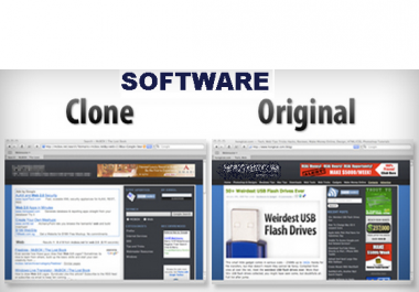 give you a great software to Clone entire website(s) - html codes-images-etc.