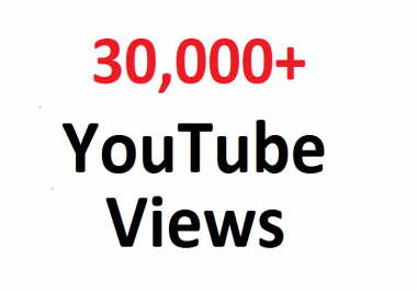 add 30000 30K SAFE YouTube hits guaranteed