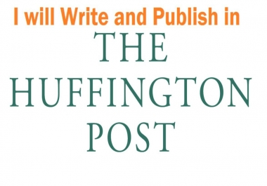 HuffingtonPost. Com Dofollow Backlinks Guest Post Service