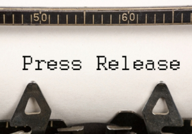 write a professional style press release, for any product, service, or industry!!