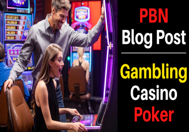 Provide You 20 Casino, Gambling, Poker Related PBNs Blogger Blog Post