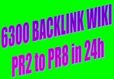 build 6300+ verified wiki backlink PR2+ edu and gov backlinks + Delivered in 24hours @@