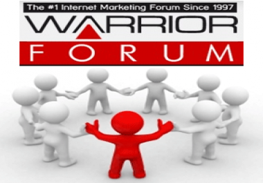 Ad Your Link To My Hyper Active Warrior Forum Signature