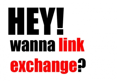 give you LINK Exchange contacts for Linkbuilding