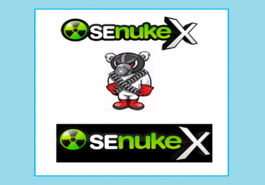 use Senuke X to creates over 2000 ++ Top Quality Backlink on High Pages Rank Site Good