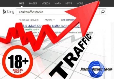 Organic traffic for Adult sites through Bing