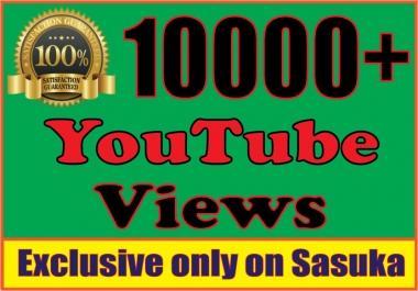 provide you 10,000 Splitable You+Tube Views
