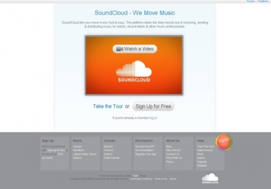 provide you 2000 real looking soundcloud followers !!!