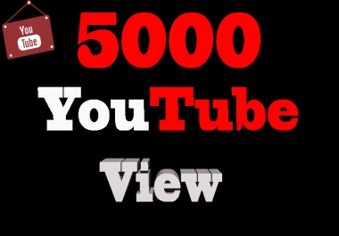 I will add 5000+ Suggested Youtube vie w