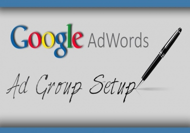 setup one AdWords PPC ad group