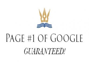 Top Google  Rankings Guaranteed!