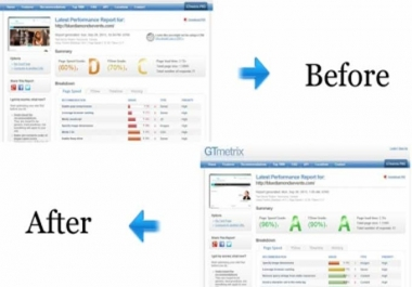 increase your website speed,optimize page speed