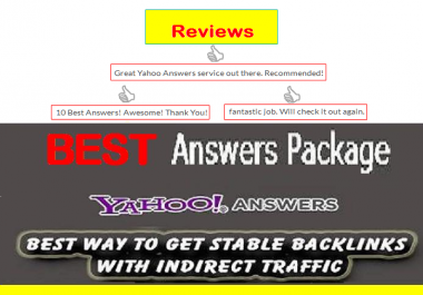 Promote your Website in Yahoo Answers with Live URL