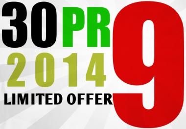 30 PR9 SEO High Pr Backlinks Best Quality Google dofollow edu links for